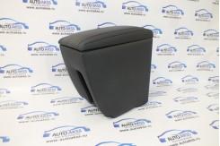 Подлокотник для LADA VESTA кожаный черный