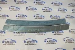 Накладка-порожек заднего бампера металл хром ГРАЕТА