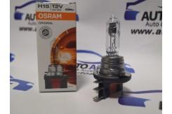 Лампа галогеновая OSRAM H15 12V 15/55W