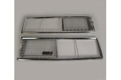 Решетка радиатор ВАЗ 2106 сетка хром
