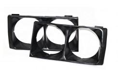 Очки решетки радиатора ВАЗ 2106 облицовка фар черный
