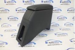 Подлокотник для ВАЗ 2101 2107 кожаный черный