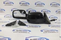 Зеркала заднего вида с тросовым управлением. ВАЗ-2104,2105, 2107, ПОД ПИТЕР.Черный