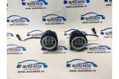 Светодиодные туманки LED для установки на автомобили Лада Приора