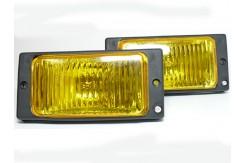 Фары противотуманные ВАЗ 2110 желтый рифленый