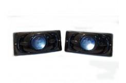 Фары противотуманные чёрные линза ВАЗ 2110-2115