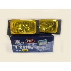 Противотуманные фары HIGH QUALITY F2110 желтый гладкое