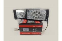Светодиодные противотуманные фары в штатное место для ВАЗ 2110-2115.  HY-174-8LED