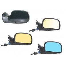 Зеркало с тросовым управлением и обогревом.Renault Logan,Sandero.Duster.Largus (тип ЛТ-о)